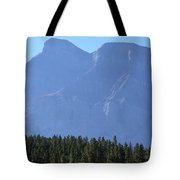 Mountain Contrasts Tote Bag