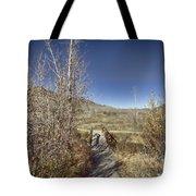 Mountain Creek Bridge Tote Bag