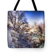 Mountain Creek Path-sundance Utah Tote Bag