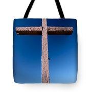 Mountain Cross Tote Bag