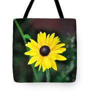 Mountain Daisy Yellow Tote Bag