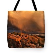 Mountain Drama Tote Bag