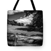 Mountain Field Tote Bag