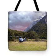 Mountain Flight Tote Bag