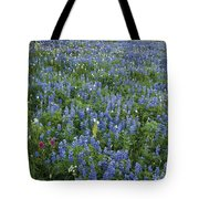 Mountain Flower Meadow Tote Bag