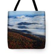 Mountain Fog - Blue Ridge Parkway Tote Bag