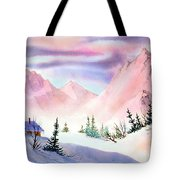 Mountain Glow Tote Bag