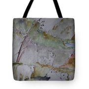 Mountain Goats In Spearfish Canyon Tote Bag