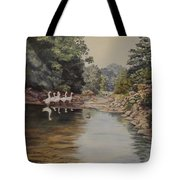 Mountain Home Creek Tote Bag
