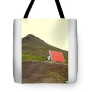 We Will Live Together In A Humble Mountain Hut  Tote Bag