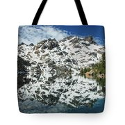 Mountain In The Mirror Tote Bag