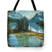 Mountain Island Sanctuary Tote Bag