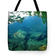Mountain Lagoon Tote Bag