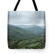 Mountain Landscape Of Italy Tote Bag