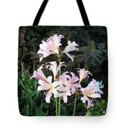 Mountain Lillies Tote Bag