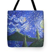 Mountain Loch Tote Bag