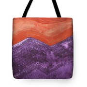 Mountain Majesty Original Painting Tote Bag
