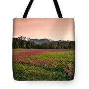 Mountain Meadow Color Tote Bag