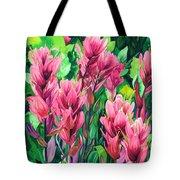 Mountain Meadows' Paintbrush Tote Bag
