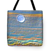Mountain Moonrise 2 Tote Bag