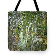 Mountain Moss Lichens And Fungi Tote Bag