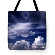 Mountain Of Clouds Tote Bag
