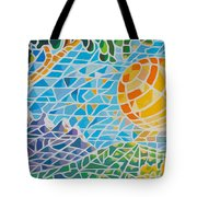 Mountain Of God Tote Bag