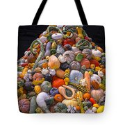 Mountain Of Gourds And Pumpkins Tote Bag