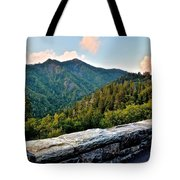 Mountain Overlook Tote Bag