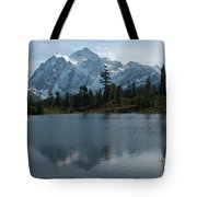 Mountain Reflection Tote Bag