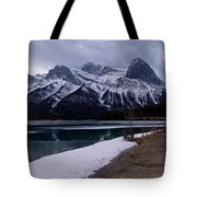 Mountain Reservoir Tote Bag