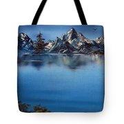 Mountain Ridge Horizon Tote Bag by Cynthia Adams