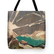 Mountain Solitude Tote Bag