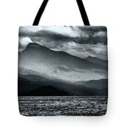 Mountain Storm Clouds Tote Bag