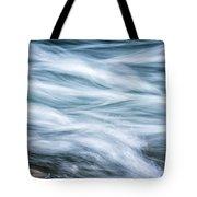 Mountain Stream In Motion E101 Tote Bag
