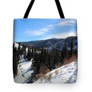 Mountain Sun Tote Bag