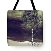 Mountain Tree Tote Bag