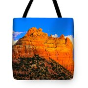 Mountain View Sedona Arizona Tote Bag