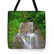 Mountain Waterfall II Tote Bag