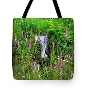 Mountain Wildflowers Tote Bag