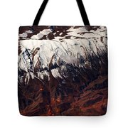 Mountains. Aerial. Beauty Of Our Planet Tote Bag