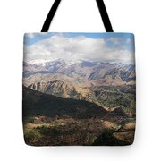 Mountains Along N9, Al Haouz Tote Bag