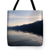 Mountains At Sunset Tote Bag