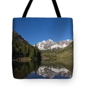 Mountains Co Maroon Bells 12 Tote Bag