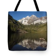 Mountains Co Maroon Bells 8 Tote Bag