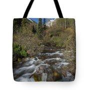 Mountains Co Maroon Creek 1 Tote Bag