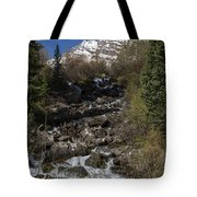 Mountains Co Maroon Creek 2 Tote Bag