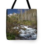 Mountains Co Maroon Creek 4 Tote Bag