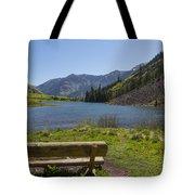 Mountains Co Maroon Lake 3 Tote Bag