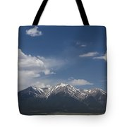 Mountains Co Mt Princeton 1 Tote Bag